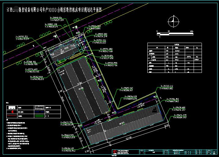 建築設計院在江西省某數控設備公司的機床項目勘察報告2
