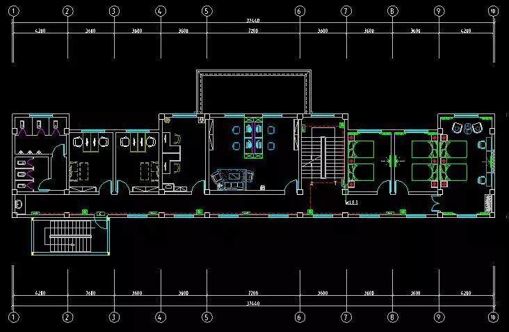 建築設計院案例:西藏某辦公樓建築設計