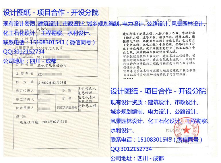 化工石化醫藥行業(化工工程)專業乙級
