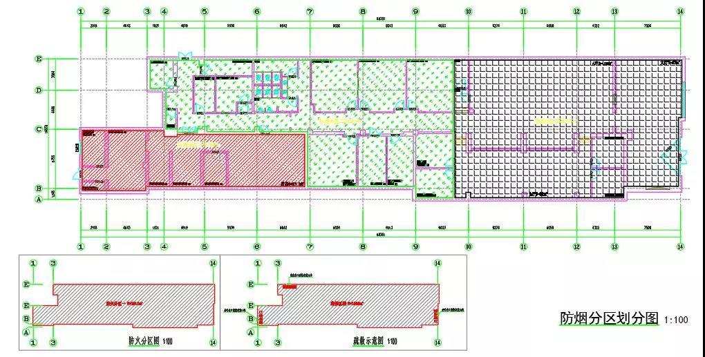 建筑设计—某餐饮店项目消防设计