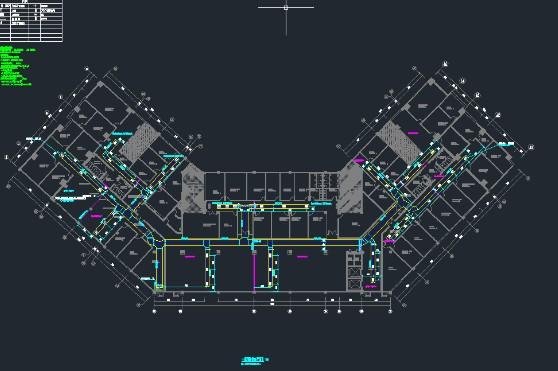 建筑设计—某县城建集团办公楼装饰工程设计